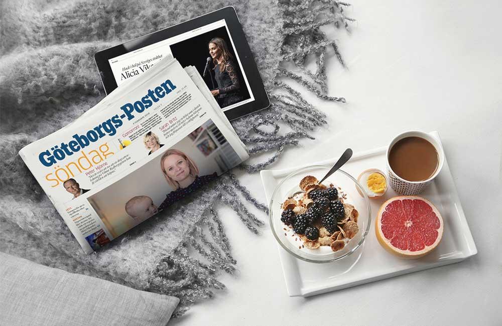 Göteborgs-Posten är en del av mediekoncernen Stampen