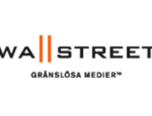 Wallstreet Media inleder ett långsiktigt partnerskap med organisationen Förebildarna.