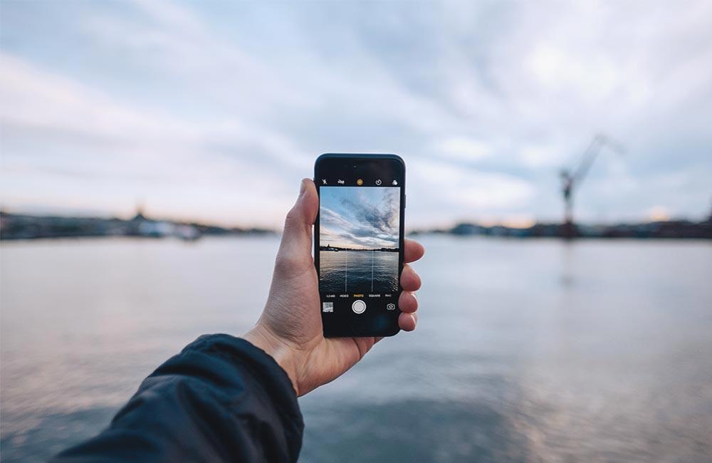 Göteborg genom en iphone