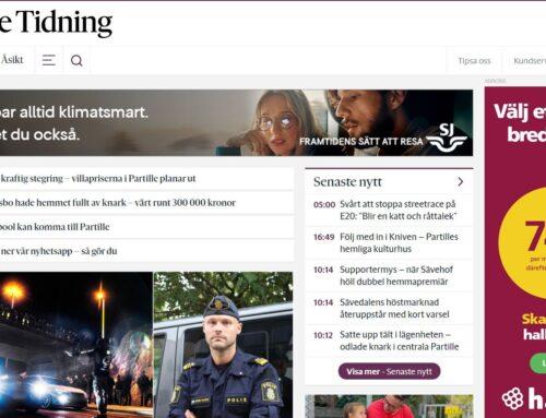 Nu är Partille Tidning i gång – en Sverige-unik lokaltidning